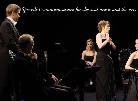 Specialist public relations for classical music and the arts
